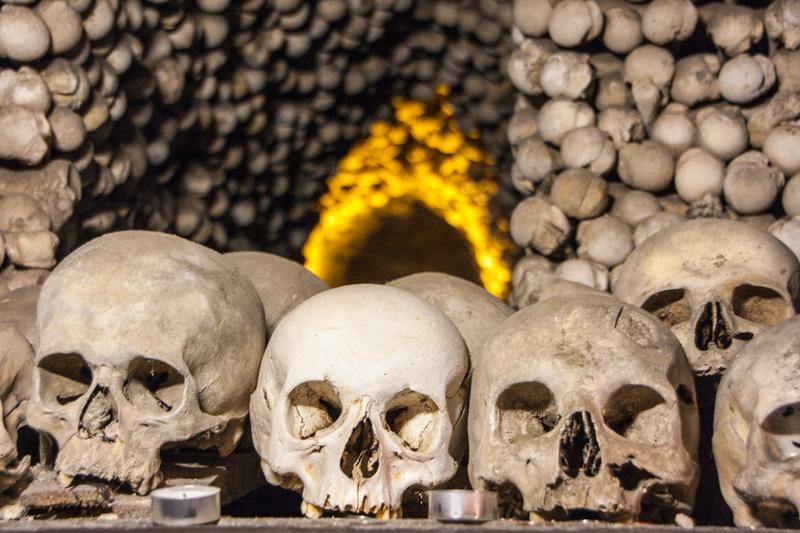 Sedlec Ossuary (Kostnice Sedlec), Kutna Hora, Czech Republic