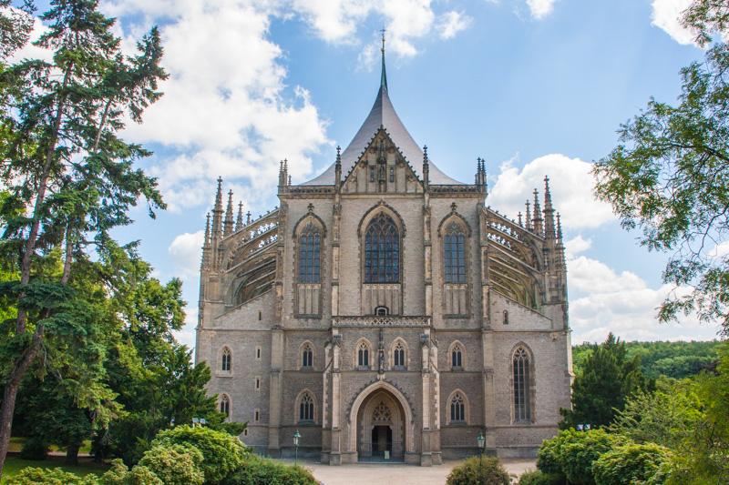 St. Barbara Church (Kostel Svaté Barbory), Kutna Hora, Czech Re