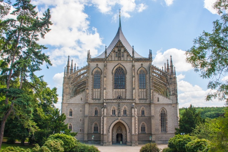 St. Barbara Church (Kostel Svaté Barbory), Kutna Hora, Czech Re
