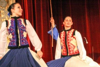 Hungarian Folklore show at the Duma theatre, Budapest, Hungary