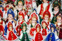 Hungarian Dolls, Central Market, Budapest, Hungary