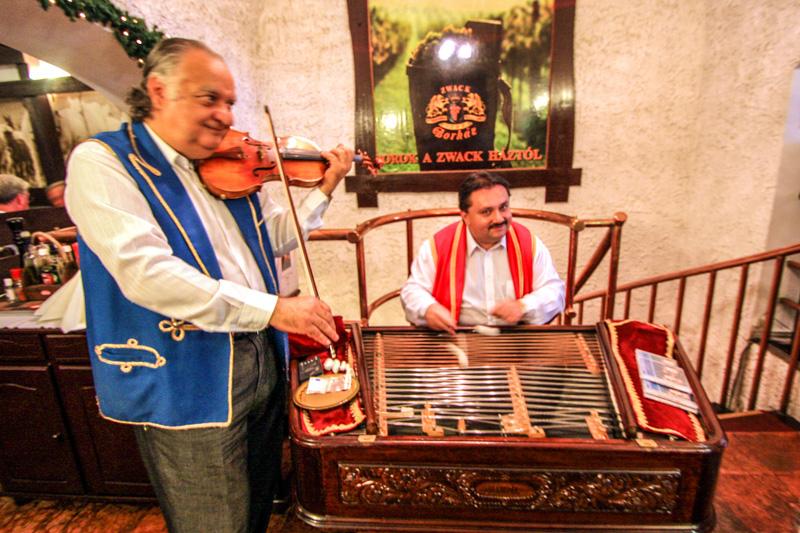 Cimbalom, Hungarian Musical instrument, Budapest, Hungary