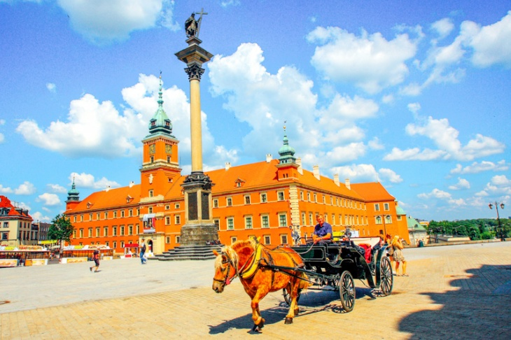 The Royal Palace with Zygmunt Column, Warsaw