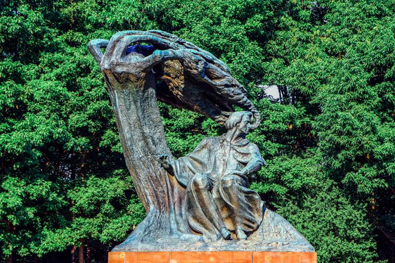 Frederyk Chopin Monument, Royal Baths Park, Warsaw