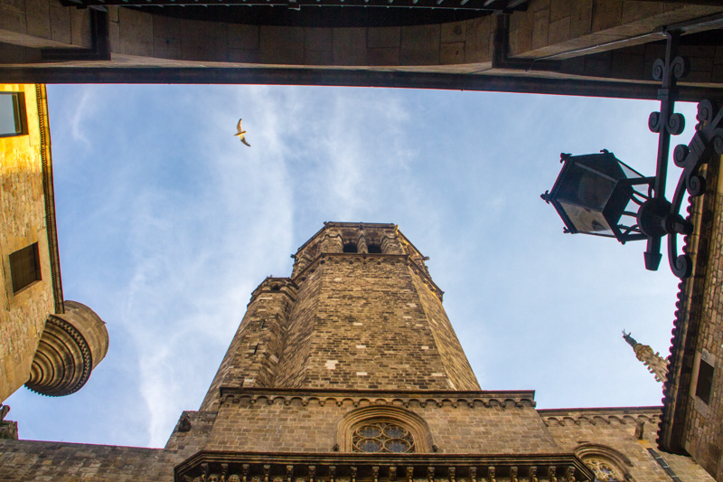 Bell Tower, Cathedral of Santa Eulalia, Barcelona Cathedral, Bar