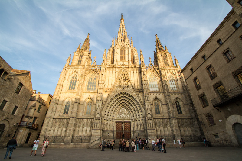 Cathedral of the Holy Cross and Saint Eulalia, Barcelona Cathedr