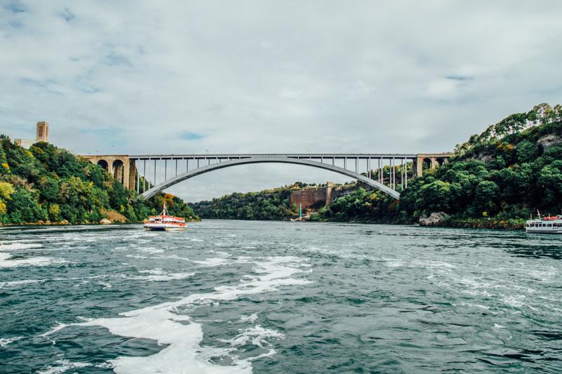 Rainbow Bridge, Niagara River, Niagara Falls, Canada