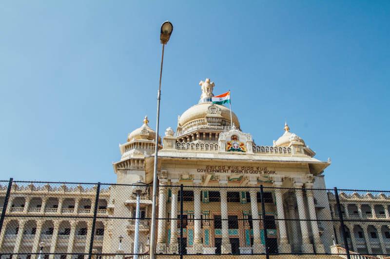 Vidhan Soudha, Bangalore, Karnataka, India