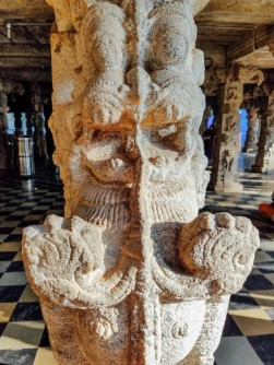 Yali, Lino, Halasuru Someshwara Temple, Bangalore, Karnataka, In