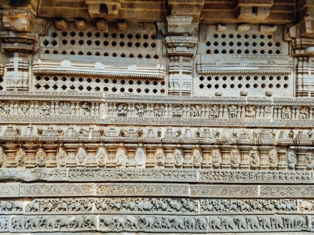 The temple was built by Soma, a Dandanayaka in 1268 C.E. under Hoysala king Narasimha III, when the Hoysala Empire was the major power in South India.