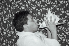 Blowing the conch. During the olden days when two kingdoms used to fight, when they stood on the battleground, each would announce their preparedness by blowing a conch. The Bhagavad Gita, the holy book of Hindus begins with the blowing of a conch. It is thus a sign to herald a new beginning.