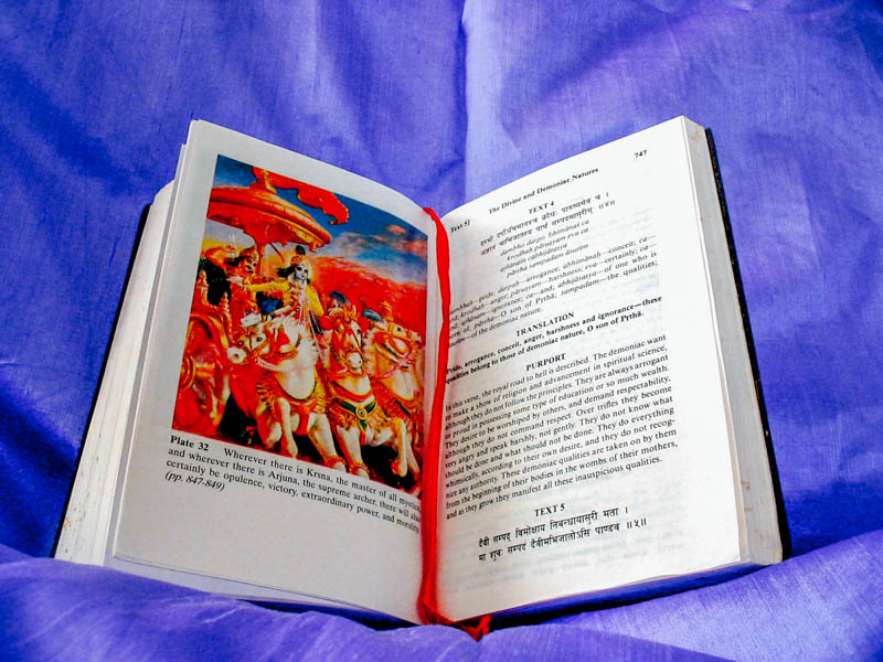G is for Gita, Incredible India A-Z