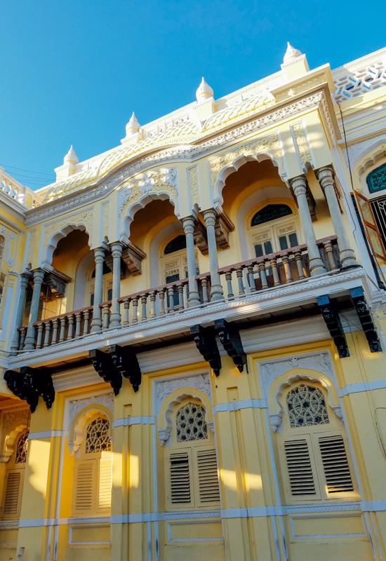 Balcony, Mysore Palace, Karnataka, India