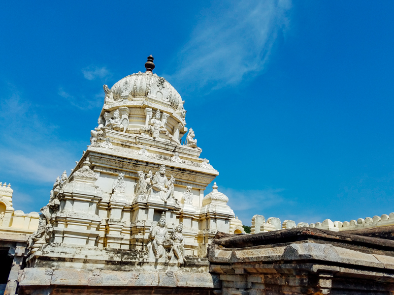 Nature is God, Gopuram, Sri Navaneetha Krishna Temple, Doddamall