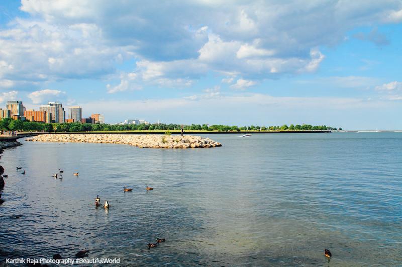 Lake Michigan, Milwaukee, Wisconsin