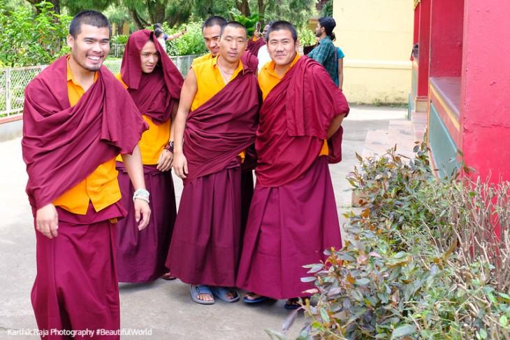 Namdroling Monastery, Bylakuppe, Kodagu District, Karnataka, Ind