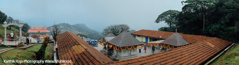 Tala Kaveri Temple, Kodagu District, Karnataka, India