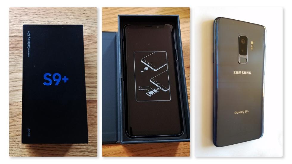 S9+ unboxing