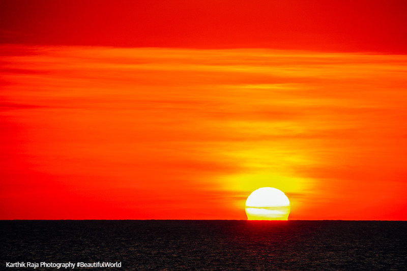 World's best sunset, Negril, Jamaica