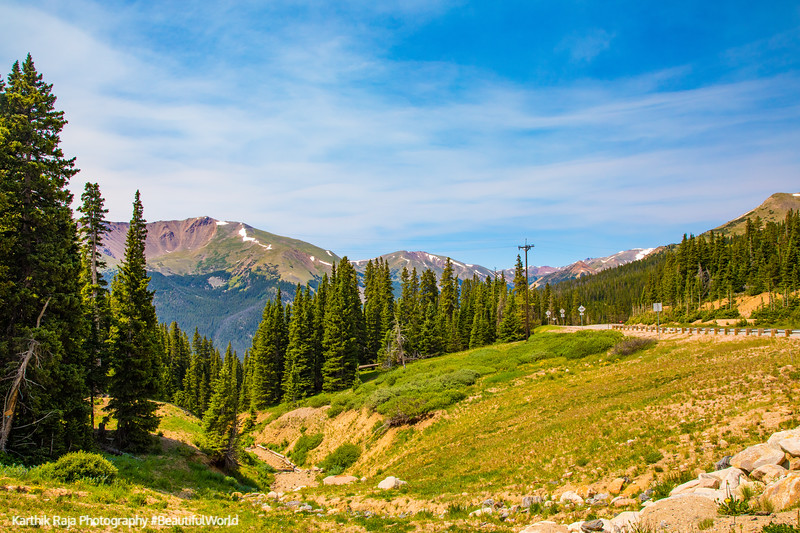 Berthoud Pass, Continental Divide, Arapahoe National Forest, Col