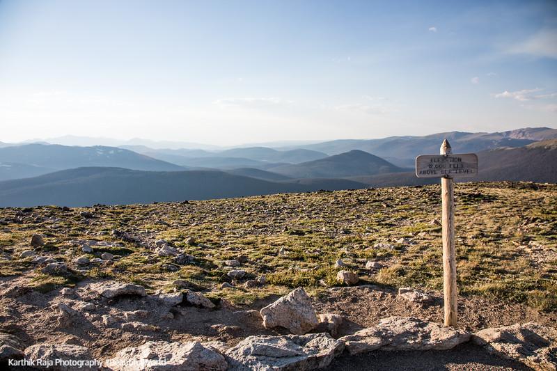 Peak, 12000 ft, Alpine Ridge Trail, Alpine Visitor Center, Rocky