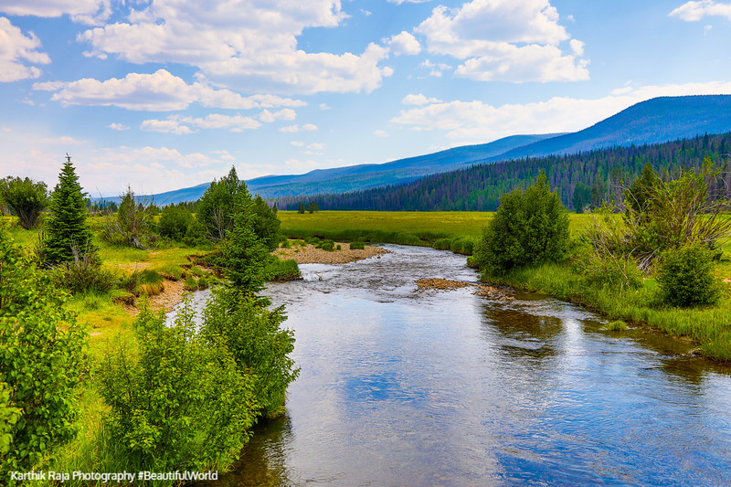 Colorado River, Holzworth Historic Site, Rocky Mountain National