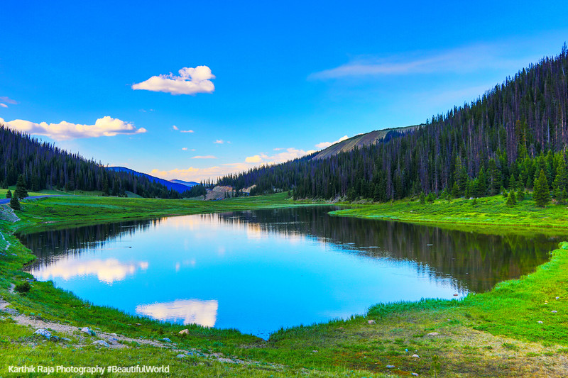 Poudre Lake, Milner Pass, Continental Divide, Rocky Mountain Nat