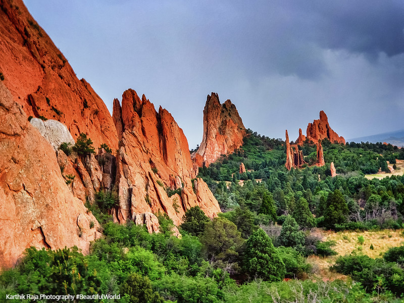 Cathedral Valley, Garden of the Gods, Colorado Springs, Colorado