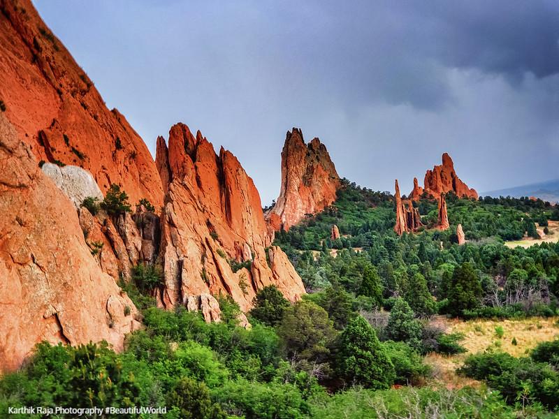 Cathedral Valley, Garden of the Gods, Colorado Springs, Colorado