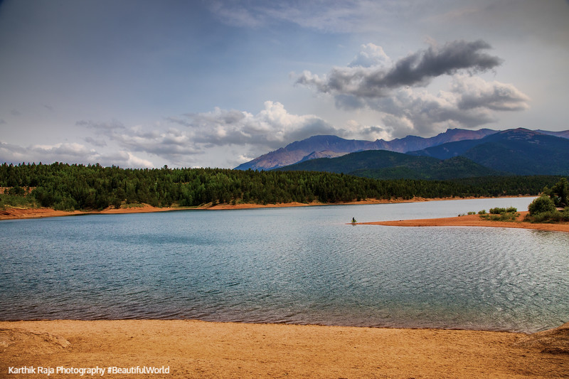 Crystal Reservoir, Pikes Peak, Colorado Springs, Colorado
