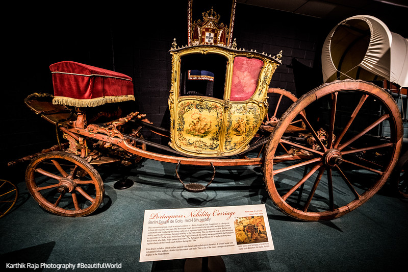 Portugese Nobility Carriage, Berlin Coupe de Gala, Car Museum, L