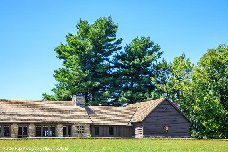 Dickey Ridge Visitor Center, Shenandoah National Park, Virginia