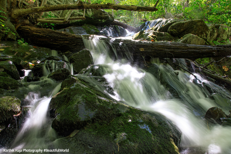 Waterfalls, Lands Run Trail, Shenandoah National Park, Virginia