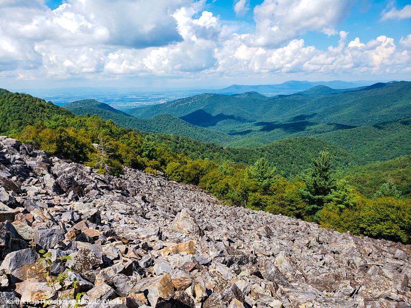 View from Black Rock Summit Trail, Appalachian Trail, Shenandoah