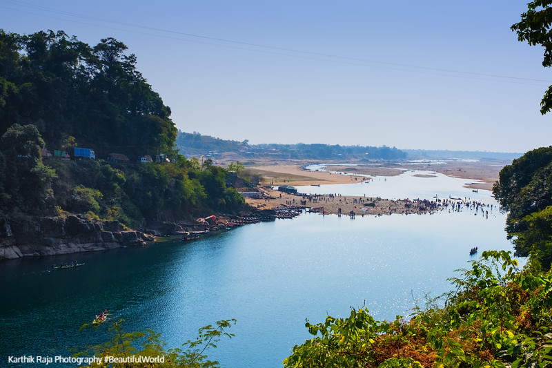 Dawki River, Meghalaya - India - Bangaladesh Border