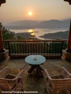 Sunrise, Ri-Kynjai, Umiam Lake, Shillong, Meghalaya