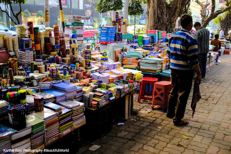 Street Vendors, Park Street, Kolkata, India