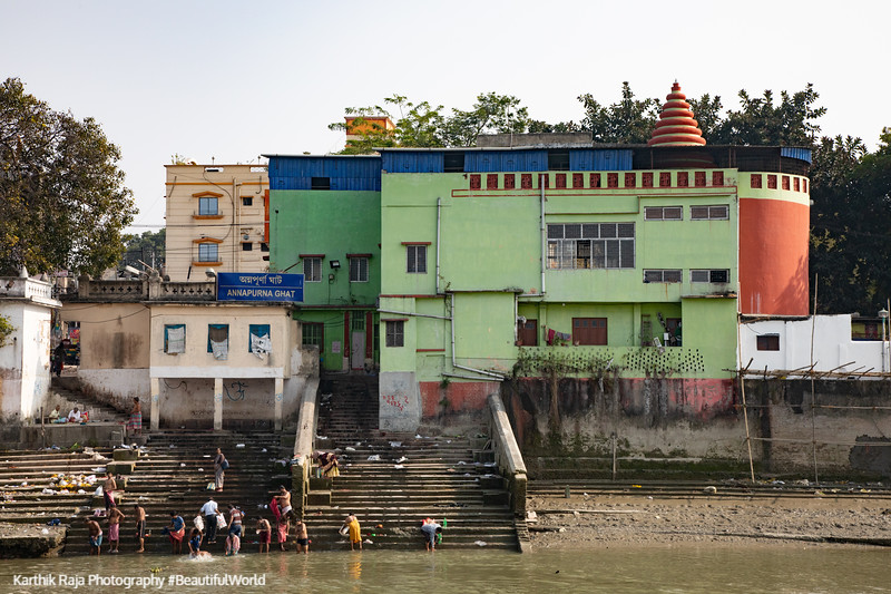 Annapurna Ghat, Ghats and Mansions, Views from the Vivada Cruise