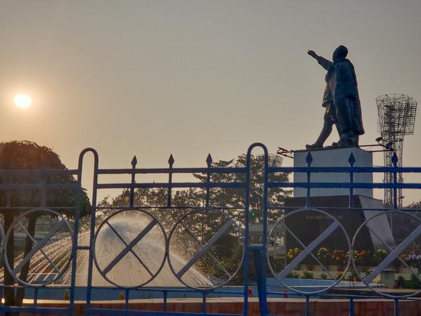 Statue of Subash Chandra Bose, Kolkata, India