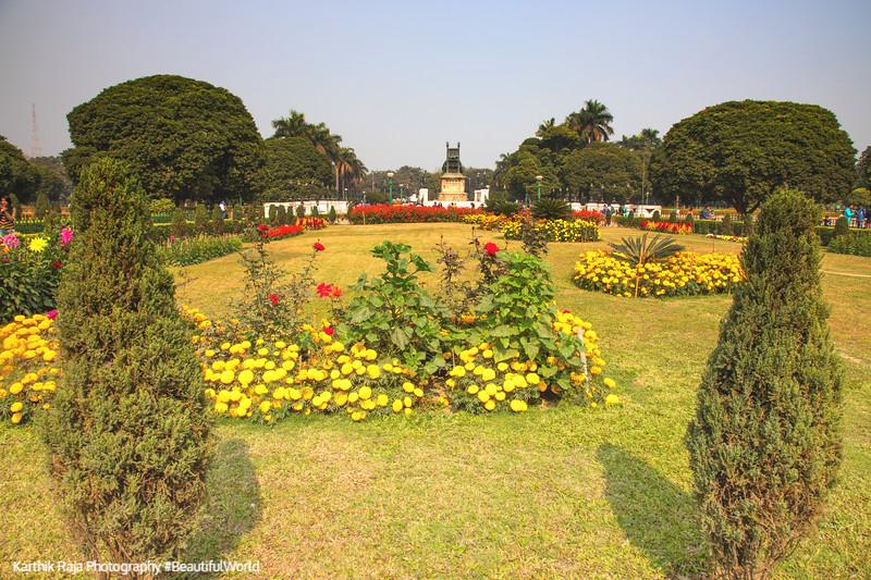 Gardens, Victoria Memorial, Kolkata, India