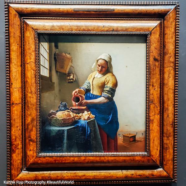 The Milkmaid, Johannes Vermeer, c. 1660, Rijksmuseum, Amsterdam