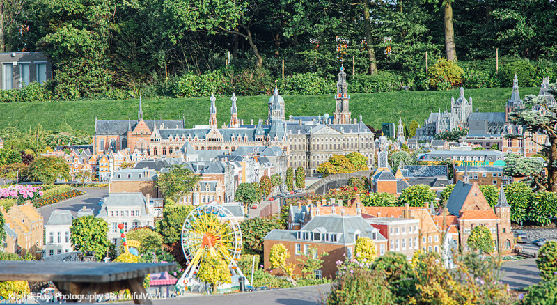 Amsterdam model, Madurodam, Hague, Netherlands