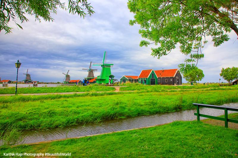 De Gekroonde Poelenburg, Windmills, Zaanse Schans,  Netherlands